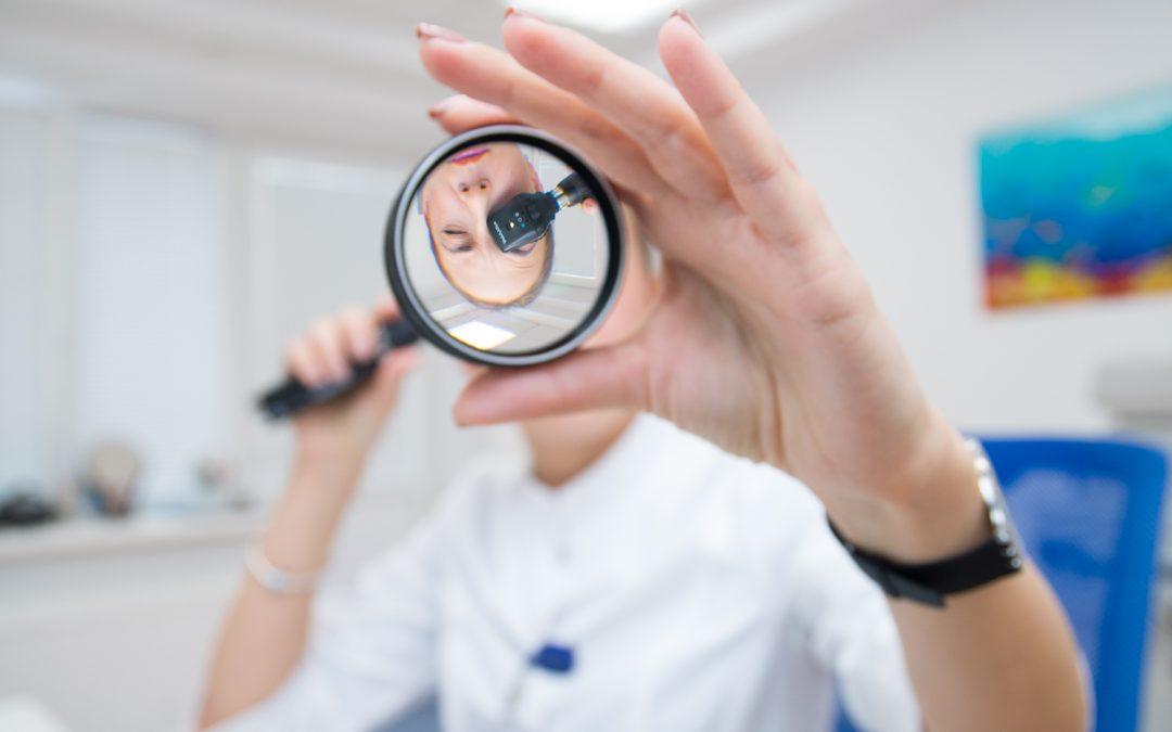 Добро пожаловать к офтальмологу!